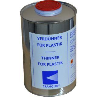 Zur Verdünnung von CRAMOLIN PLASTIK, PLASTIK 2115 UV und PLASTIK HOCHVISKOS UV.
